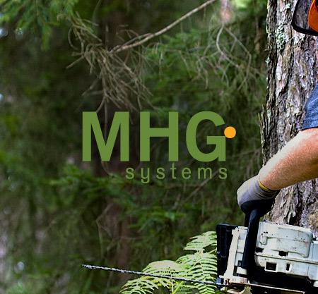 MHG System Oy verkkosivut, graafinen suunnittelu ja mobiilikäyttöliittymä