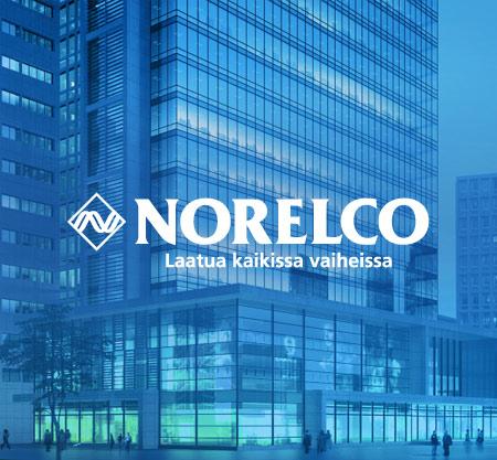 Norelco messumateriaalit, verkkosivut ja uusi ilme
