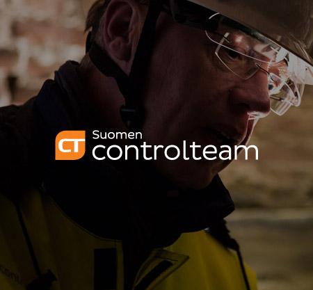 Suomen Controlteam yritysilme, verkkosivut, brändäys ja graafinen ilme